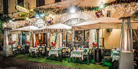 Al 34 restaurant in Rome