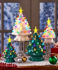 Retro Ceramic Tabletop Christmas Trees