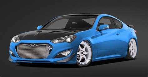 Hyundai Genesis Horsepower by Hyundai And Bisimoto Make 1 000 Horsepower Genesis Coupe