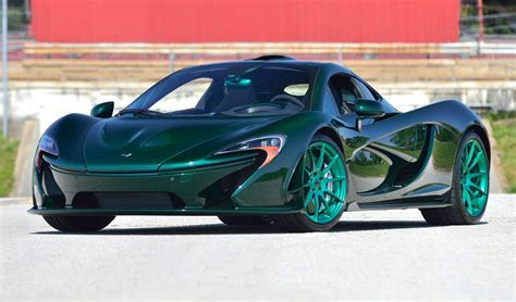 First Ever Green Carbon Fiber McLaren P1 Available to the