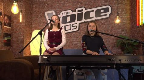 voice kids video unplugged mimi und josefin mit