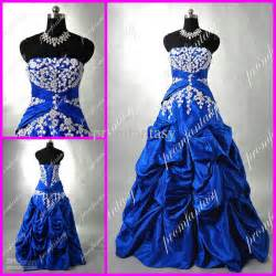 royal blue wedding dress royal blue wedding evening gowns vintage custom made 2016 cheap beaded applique actual strapless