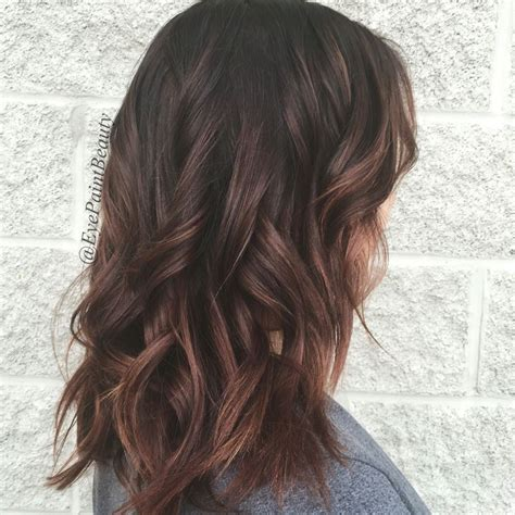 Rich Brown Hair With Caramel Highlights by Rich Chocolate Haircolor Goals Bronde Caramel
