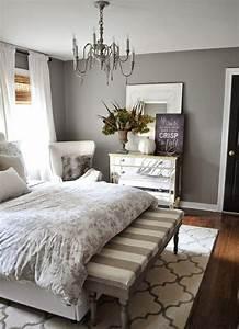 Graue Wandfarbe Mischen : einrichtungsideen schlafzimmer gestalten sie einen gem tlichen raum ~ Markanthonyermac.com Haus und Dekorationen