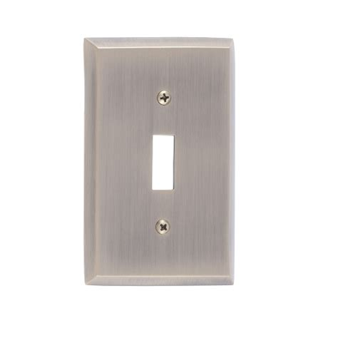 Quaker Cabinet Hinges by Brass Accents M07 S4500 Quaker Single Switch Plate Low