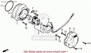 Honda Trx200 Fourtrax 200 1984  E  Usa Pulse Generator