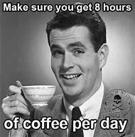 Slurping Coffee Meme