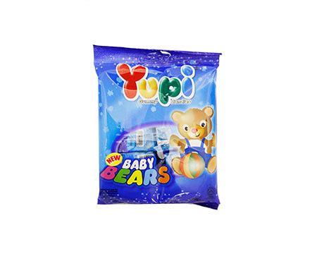 Yupi Gummy Candies Baby Bears 45g n roller coaster potato ring cheese 70 seng