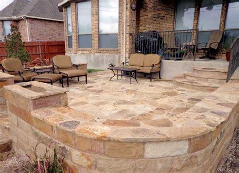 patio flagstone ideas ok flagstone patio ideas outdoor pinterest