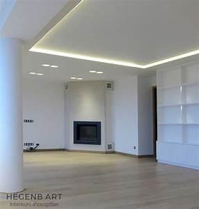 plafond lumineux design hegenbart With porte d entrée alu avec bandeau lumineux led salle de bain
