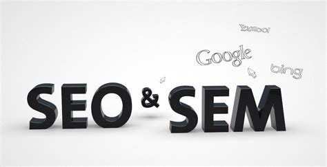 seo sem seo and sem two names for the same thing