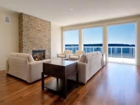 Hardwood Floor Living Room Design Ideas