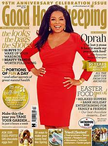 Oprah Winfrey is Good Housekeeping's April 2017 cover star ...