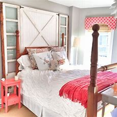 Do It Yourself Barn Door Headboard