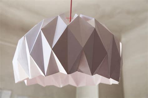 abat jour origami tuto diy abat jour origami