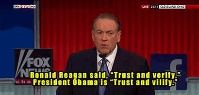 Verify Reagan Ronald Obama President Fox Trust