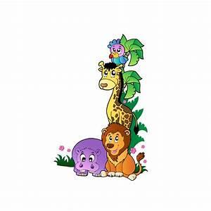 Stickers Animaux De La Jungle : sticker animaux de la jungle 1 ~ Mglfilm.com Idées de Décoration