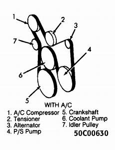 1994 Gmc Sonoma Serpentine Belt Routing And Timing Belt Diagrams