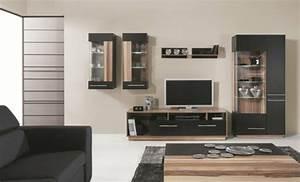 Meuble Tv Design Pas Cher : meuble tv bois et blanc pas cher ~ Teatrodelosmanantiales.com Idées de Décoration