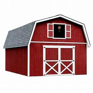 shop best barns roanoke without floor gambrel engineered With 16 x 28 barn kit