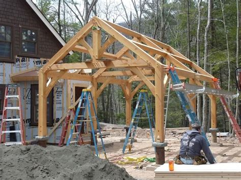 Our Post And Beam Garages And Barns Last The Timber Frame