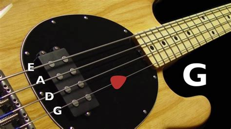 Standard Bass Tuning (e A D G) 4 Strings