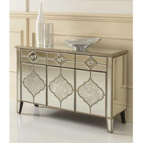Mirror Credenza by Sassari Mirrored Sideboard Venetian Glass Furniture