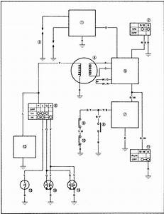 Electrical Circuit Diagram 1997 Yamaha Yfz350t