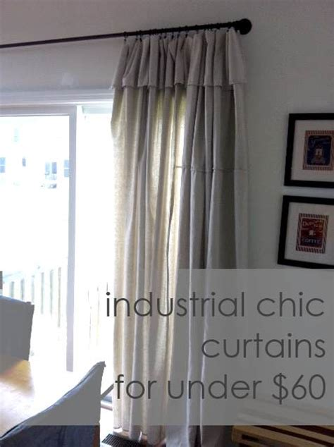 industrial style curtains industrial chic curtains