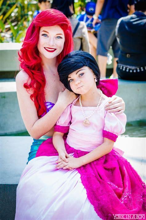 Ariel Ashlynne Dae And Melody Miley Romero From Disneys