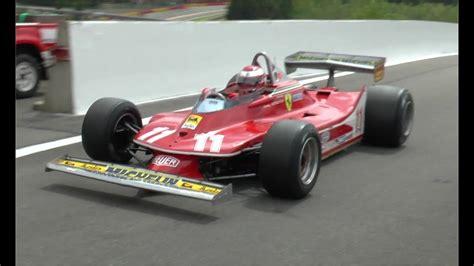 Ferrari 312t4 F1 Car, Flat 12 Warmup/race At Spa!