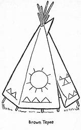 Coloring Teepee Patterns Printable Pages Native American Parade Books Embroidery Templates Quilt Beading Cabin Stitch Cross Stencils Stencil Indian Crafts sketch template