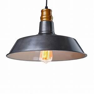 Claxy ecopower industrial barn mini metal pendant light