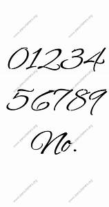 stylish cursive letter stencils numbers and custom made to With cursive letters and numbers