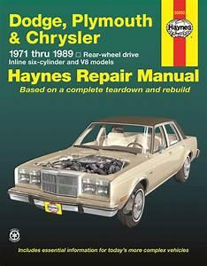Dodge  Plymouth   U0026 Chrysler Rwd 6 Cylinder  U0026 V8  71