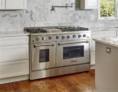 "Gas Range 48"" Thor Updates Professional Appliance,48"