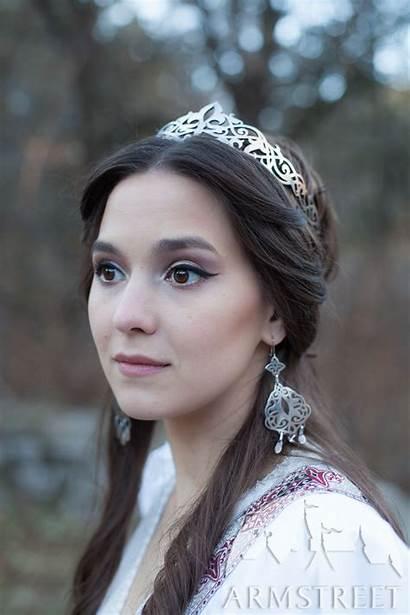 Princess Medieval Circlet Armstreet Crown Jewelry Brass