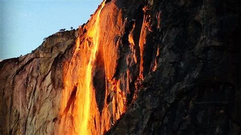 Rare Firefall Returns Yosemite For Two Weeks This