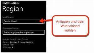 App Store Land ändern : ich m chte den deutschen windows store app store auf meinem windows phone 8 1 nutzen zur zeit ~ Markanthonyermac.com Haus und Dekorationen