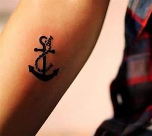 Tatouage Ancre Signification : iid es tatouage femme discret sur diff rentes parties du corps ~ Nature-et-papiers.com Idées de Décoration