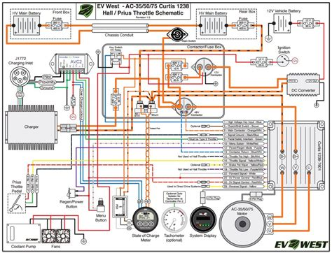 Smart Wiring Diagram by Smart Roadster Conversion To Electric Car January 2016