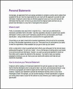 11 Job Description Statement Template