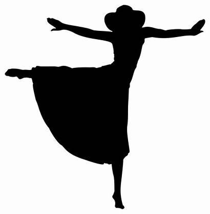 Silhouette Dancing Clip Woman Generator Svg Onlinelabels