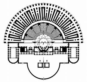 Theatre of Marcellus Plan - based on the shape of Greek ...