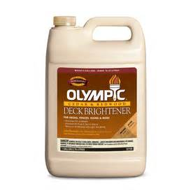shop olympic olympic deck brightener at lowes com