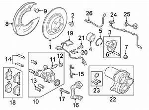 2018 Land Rover Range Rover Velar Wheel Hub  Rear