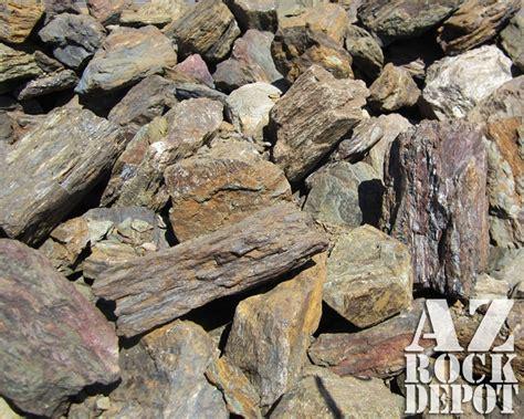 table mesa brown rock rip rap azrockdepot com