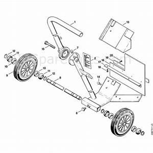 Stihl Ts 460 Disc Cutter  Ts 460  Parts Diagram  M