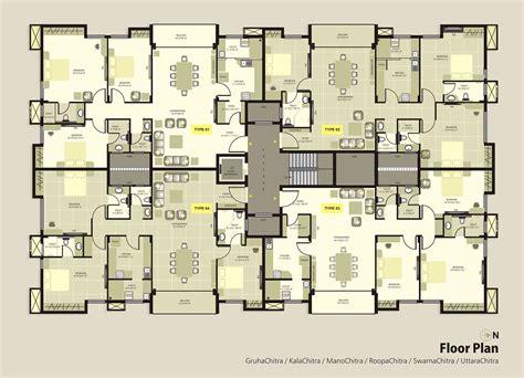 floor plans apartment krc dakshin chitra luxury apartments floorplan luxury