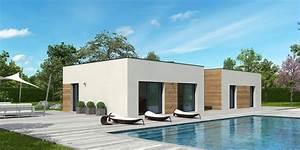 Maison Ossature Bois Toit Plat : constructeur maison individuelle dans le 44 comment bien le choisir ~ Melissatoandfro.com Idées de Décoration